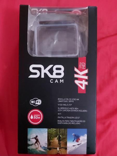 Cámara sk8 4k (tipo gopro)
