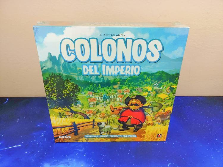Colonos del imperio juego de mesa en español