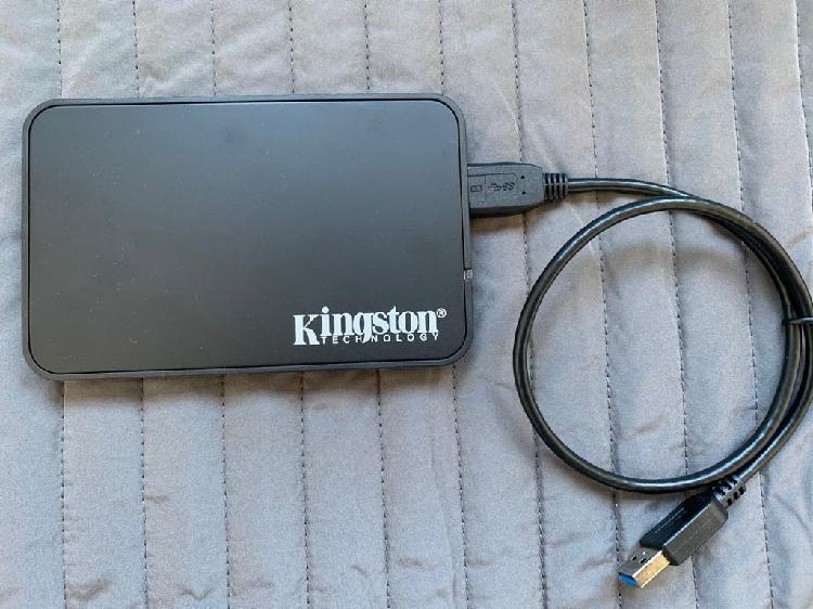 Disco duro ssd usb 3.0 kingston