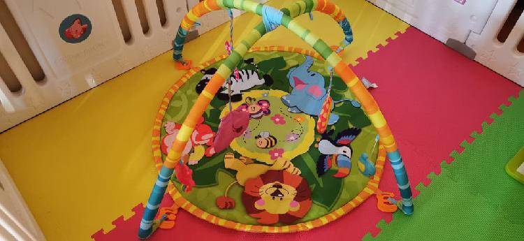 Gimnasio manta actividades bebé