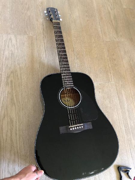 Guitarra fender acoustics cd-60