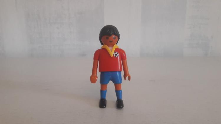 Jugador fútbol españa playmobil