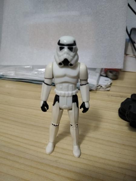 Luke skywalker (in stormtrooper outfit)