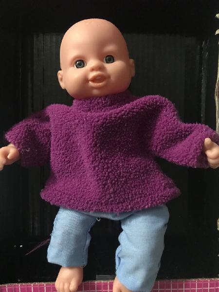 Muñeco bebé pelón