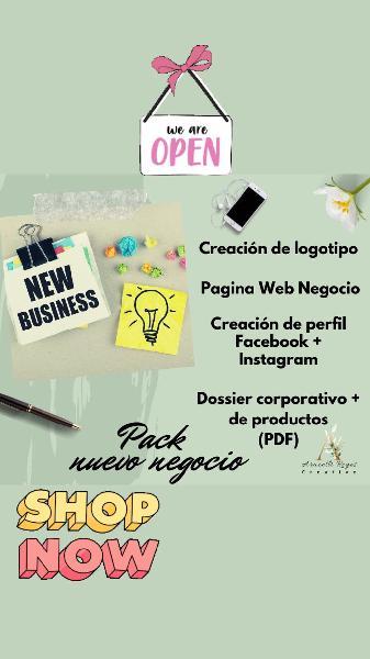Necesitas abrir tu negocio online?
