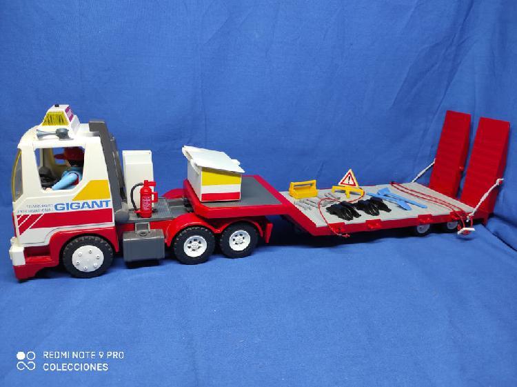 Playmobil camión de transporte internacional gigan