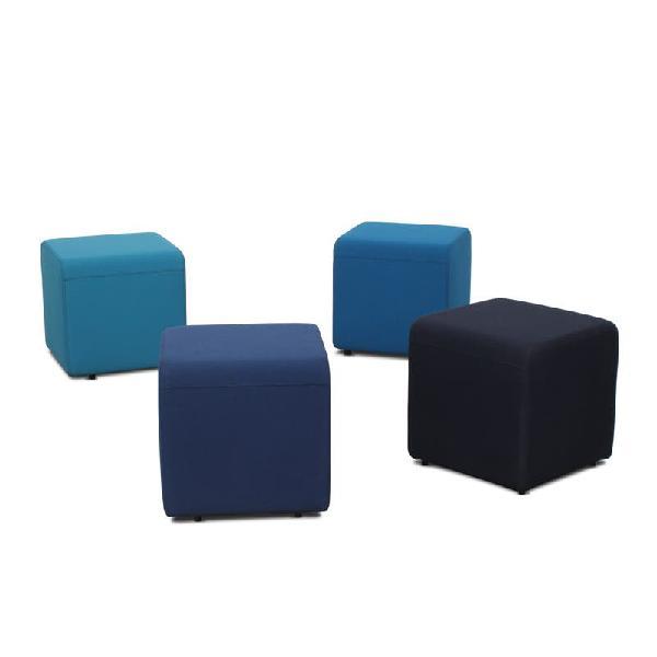 Puff para oficinas azul b-free original steelcase