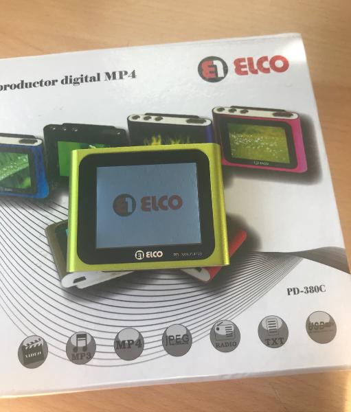 Reproductor mp4 elco pd-380-c 4gb