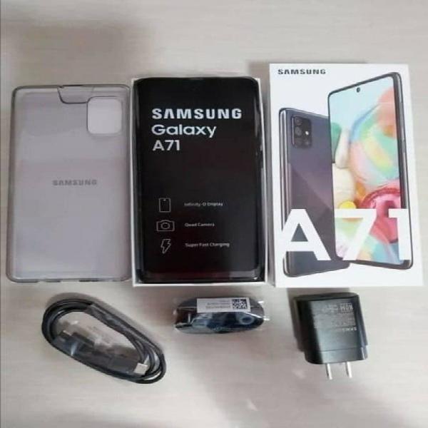 Samsung galaxy a71 * factura /garantía/ cambios *