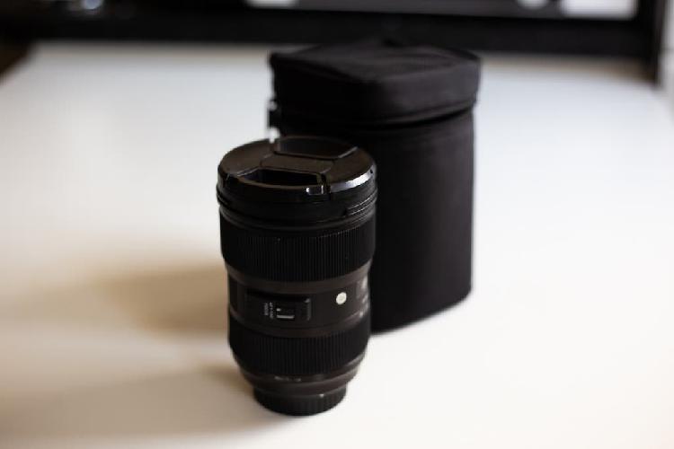 Sigma art 24-35 f2 montura canon