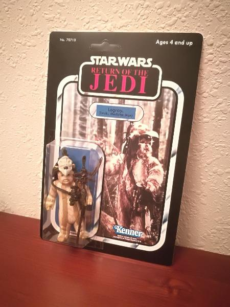 Star wars logray ewok medicine man original 1983