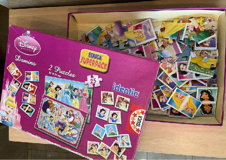 Superpack disney princess (4 juegos en 1)