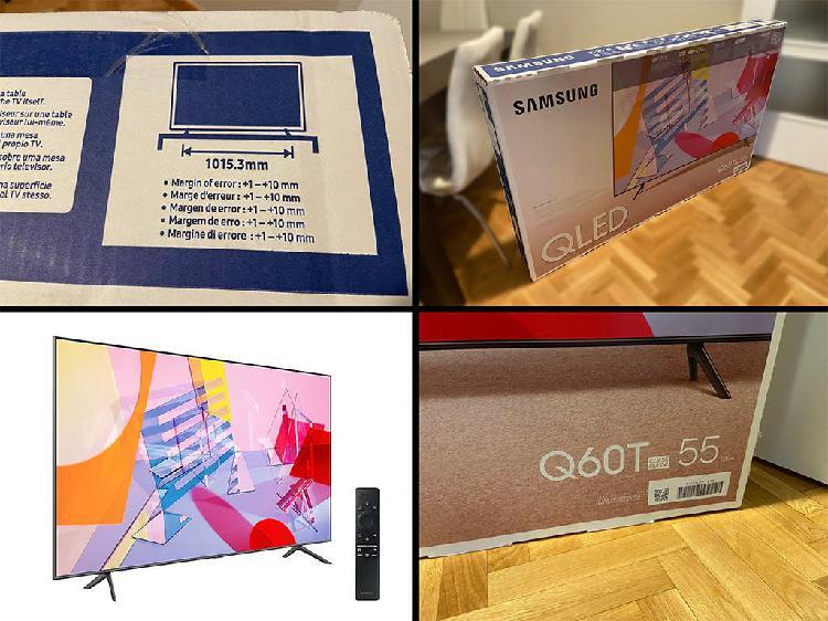Tv samsung q60t 55 4k smart tv qled