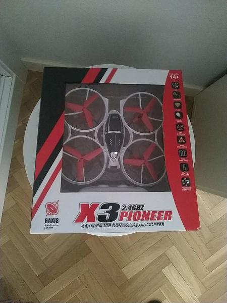 X3 pioneer
