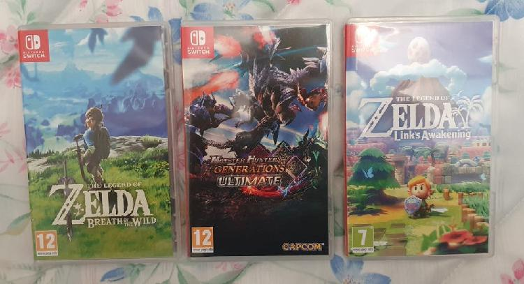 Zelda breath - zelda awakening - monster hunter