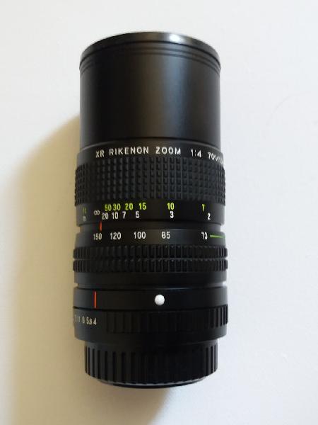 Zoom xr rikenon 70-150 f4 macro.