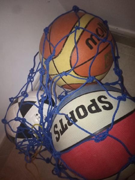 Pelotas baloncesto y futbol