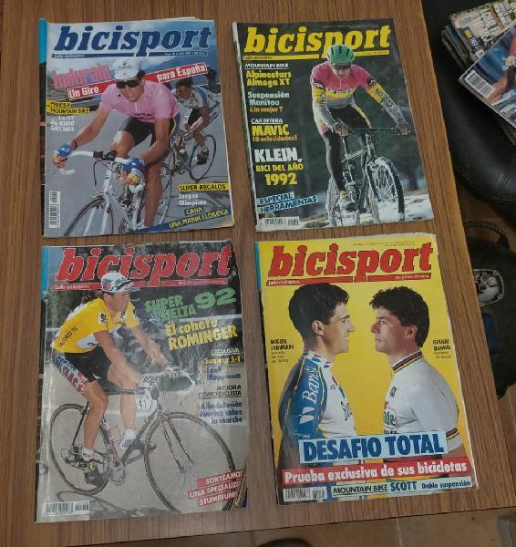 Revistas bicisport años 90