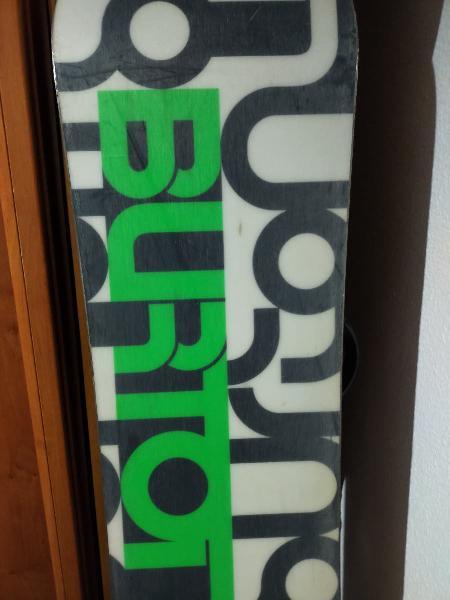 Tabla de snowboard burton elite de 1,58