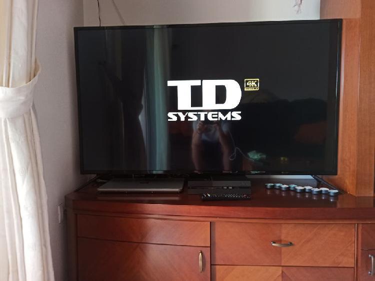 "Televisor td system (58"") 4k ultra hd"