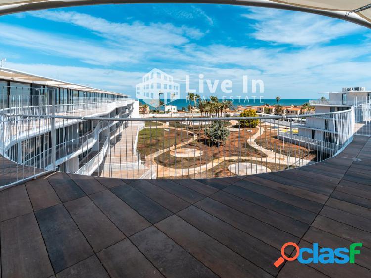 Denia beach - ático frente al mar- las marinas - 2 dormitorios