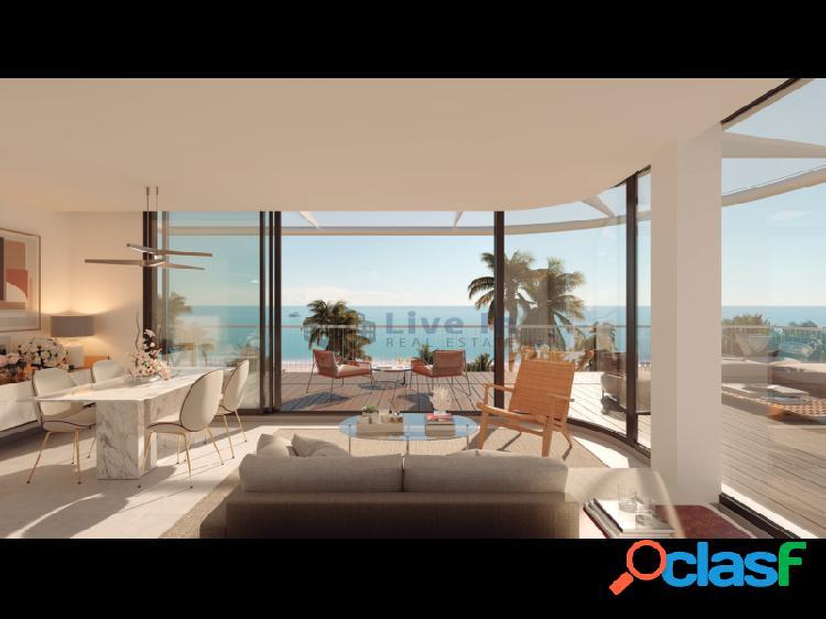 Denia beach – ático frente al mar – las marinas. 3 hab