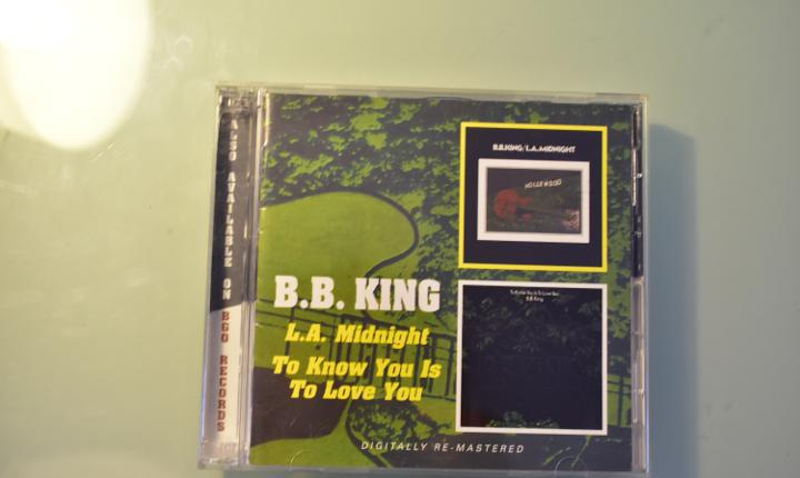 B. b. king- l. a. midnight + to know you is to love you (cd)