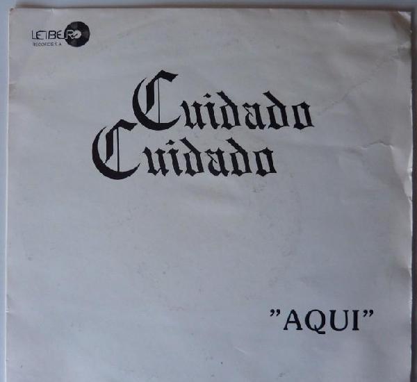 Cuidado cuidado // aqui // promo // 1988 // single