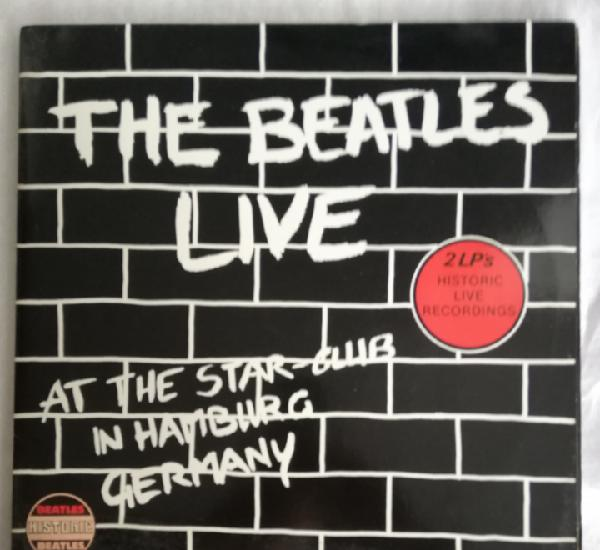 Doble disco vinilo the beatles-live at the star-club in