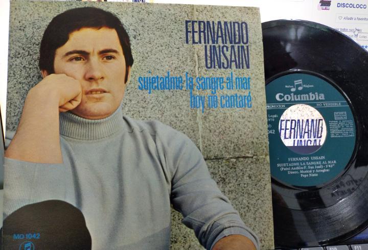 Fernando unsain single promocional sujetadme la sangre al
