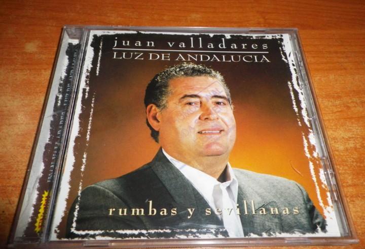 Juan valladares luz de andalucia rumbas y sevillanas cd
