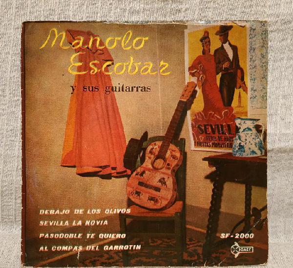 Manolo escobar y sus guitarras - debajo de los olivos + 3 -