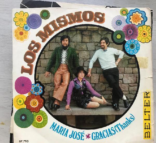 Mismos - maría josé / gracias (thanks) - single belter