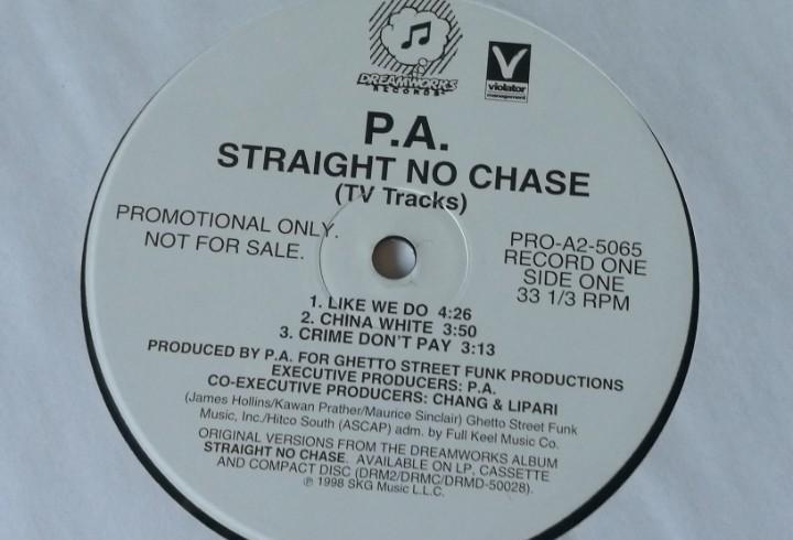 P.a. (parental advisory) - straight no chase (tv tracks) -