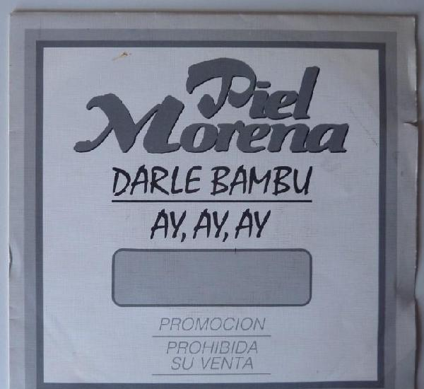Piel morena // darle bamba // promo // 1991 // single