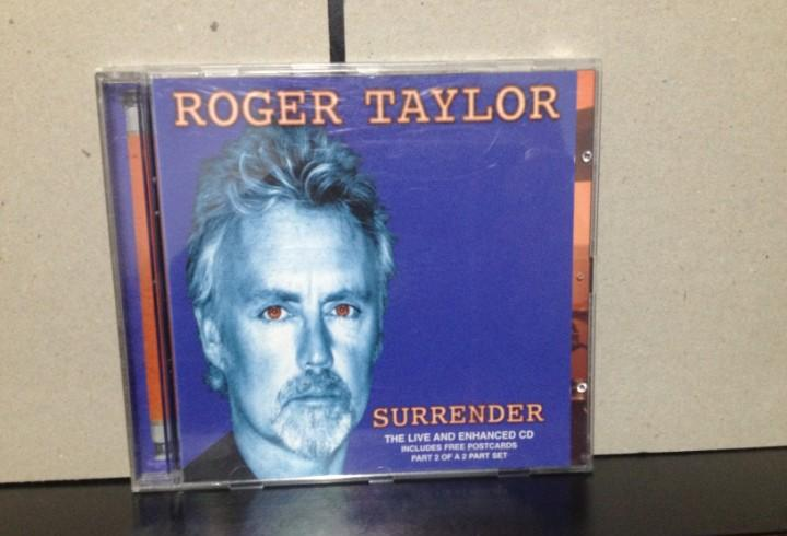 Roger taylor (queen) - surrender / the live and enhanced cd