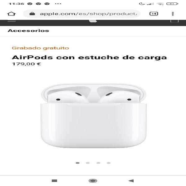 Airpods precintados con factura