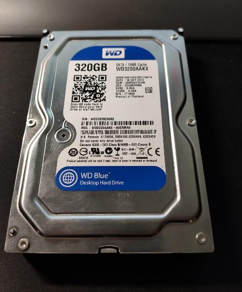 Disco duro 320 gb wd sata 7200rpm