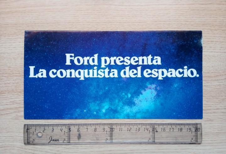 Ford orion - díptico / catálogo coche (español) - 1982