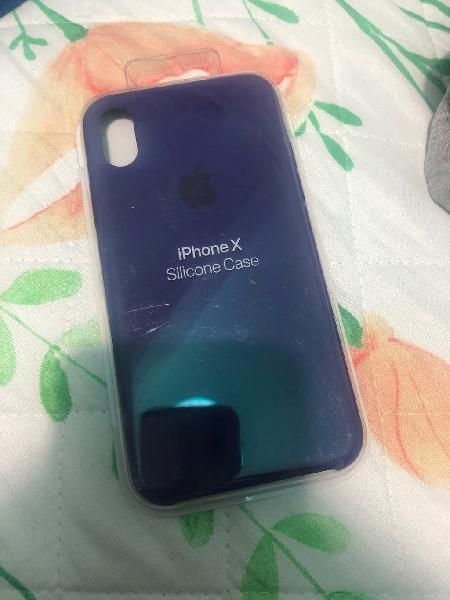 Funda iphone x silicona