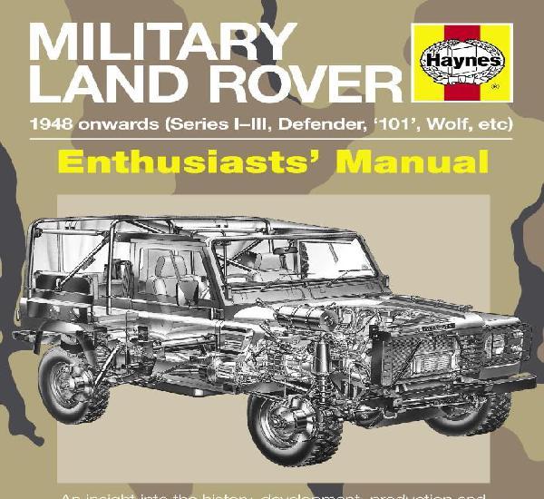 Land rover defender manual haynes militares