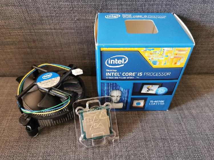 Procesador cpu intel core i5-4670k (3.4ghz)