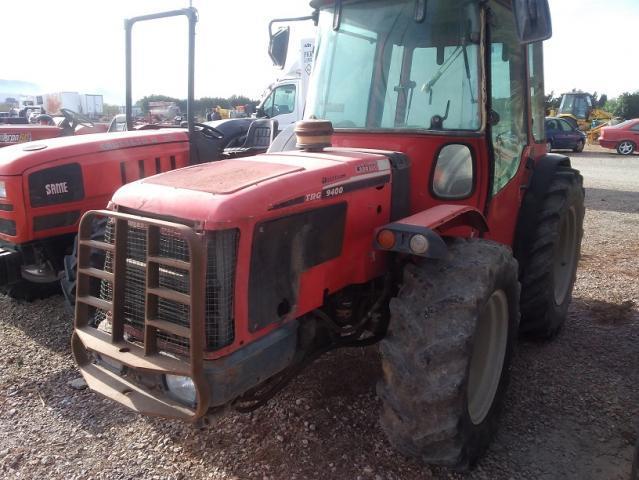 Tractor antonio carraro trg 9400 reversible. con cabina
