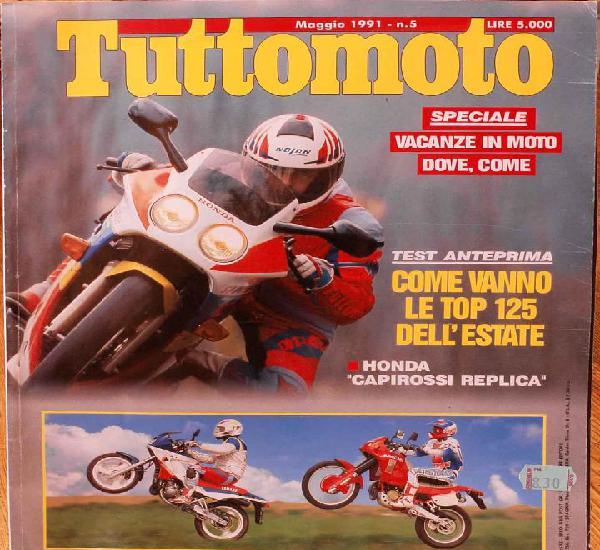 Tuttomoto #149 (5-1991). estado regular, con desgaste y