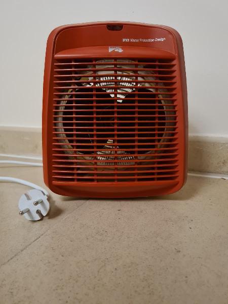 Calefactor termoventilador 2000w di4 calore rosso