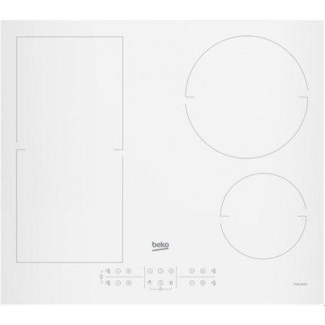 Beko hii64200fmtw - placa flex inducción blanca 4 zonas