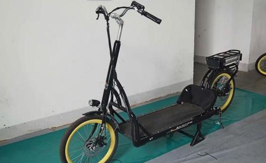 Bicicleta eléctrica para caminar
