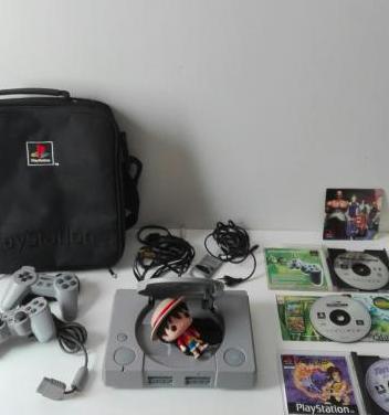 Consola ps1 psx regalo juegos