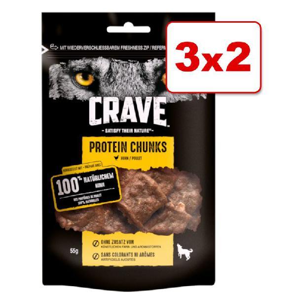 Crave protein snacks para perros en oferta 2 + 1 ¡gratis!