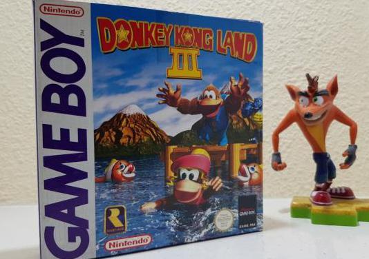 Donkey kong land iii / game boy